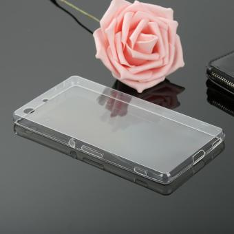 ... Strap Jam Tangan Pria - Silver M025 . Source · Ultra Slim Thin Silicone TPU Transparent Soft Clear Phone Cover Case For Sony .