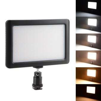 Harga XCSOURCE 192 LED Video Light Panel 3200K-6000K + Hot Shoe Adapter for Canon Camera