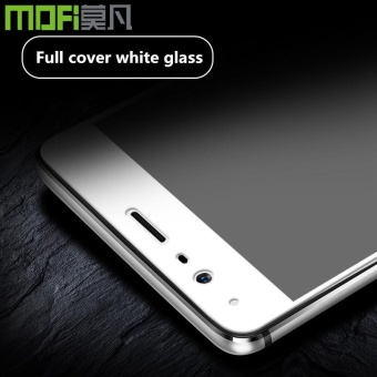 Harga oneplus 3t glass full cover tempered glass oneplus 3t screen protector white black glass MOFi one plus 3t glass film oneplus3 t - intl