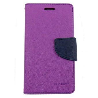 Mercury Goospery Fancy Diary Case Flip Cover Casing for Zenphone 2 5.5 - Ungu ...