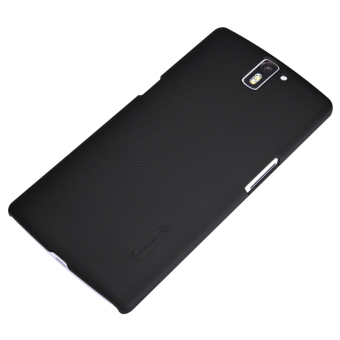 Nillkin OnePlus One Super Frosted Shield Hard Case - Hitam + Free Nillkin Screen Protector - 5