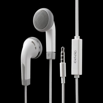 3.5mm In-ear Headhone Earphone with Remote and Mic for OPPO R7 - intl