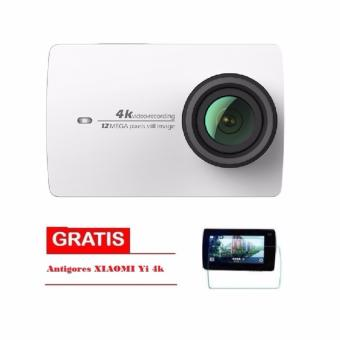Harga Xiaomi Yi II International Version Wifi 4k-Putih + ANTIGORES