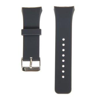 Perhiasan Silikon Band Tali Pengikat Untuk Samsung Galaxy Gear S2 SM-R720(Abu-Abu), 66.000, Update. Milan stainless steel perhiasan Band tali pengikat untuk ...