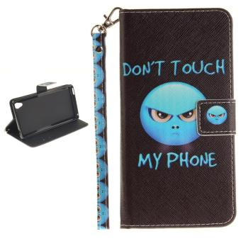 ... Cover for Sony Xperia M4 Aqua Case - intl. Simple Style Wallet Style Premium [Soft TPU + PU Leather] Flip Stand Shell Protection
