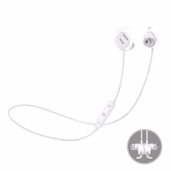 QCY QY12 Sport Magnetic Adsorption Stereo Wireless Bluetooth 4.1 Headphone Earphone - intl