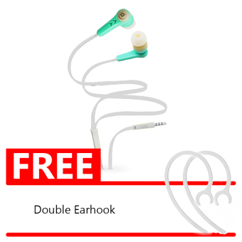 Harga Bits Earphone Colorfull J336 + Double Earhook - Biru