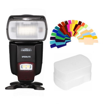 Harga INSEESI IN560IV Wireless flash Speedlite GN50 for Canon Nikon Olympus Sony Pentax