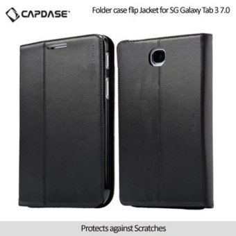 Harga CAPDASE Case Samsung Galaxy TAB 3 8 Folder case FLIP JACKET - Hitam