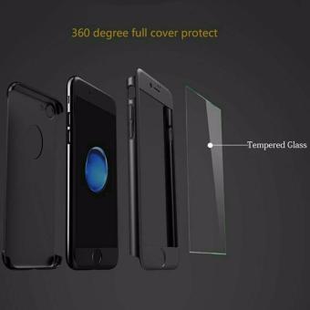 ... Tanpa Source Galeri Produk hardcase case 360 iphone 6 6s casing full body cover hitam free