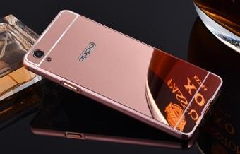 Case Oppo Joy 3 Bumper Mirror Slide Gold Free Iring Cek Harga Source Case Oppo