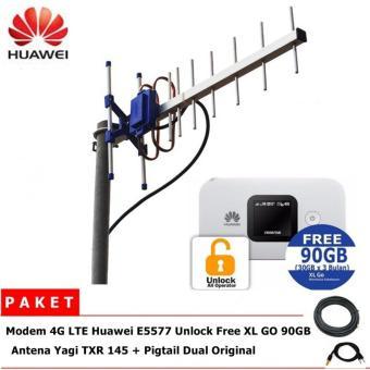 Antena YAGI GRID TXR 145 Dual Driven 45dB Penguat Sinyal Modem Source · Antena Yagi TXR