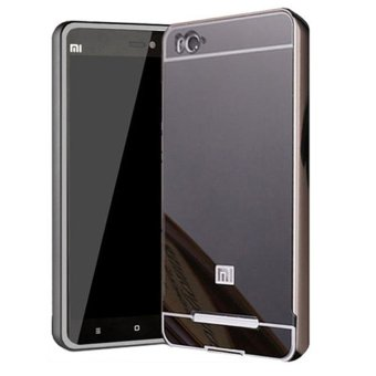 Free Tempered Glass. Casing Mirror Aluminium Bumper With Sliding Casing For Xiaomi .
