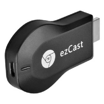 Harga ezCast Chromecast HDMI Dongle Wifi Display Receiver M2 Android 1080P Chipset RK2928 - Black