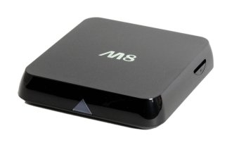 Harga M8 Fully Loaded KODI Quad Core Android 4.4 Smart Set Top TV Box 3D Blu-ray 4K Streaming Media Player Miracast DLNA Receiver Amlogic S802 AML8726-M8 Cortex A9 2GHz 2GB Ram 8GB Rom Mali450 GPU 4K HDMI 2.4G/5G Dual WiFi Ultra HD Mini PC