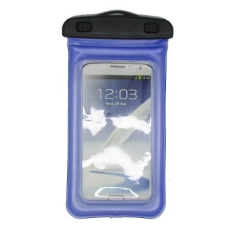 Harga Water Proof Bag for Smartphone 4.7 - 5.5 Inch - ABS180-105 - Pacific Blue