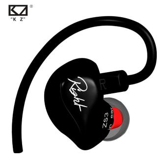 Harga KZ ZS3 In-ear Earphone Dynamic Driver Replacement Cable Noise Cancelling Headset With Microphone - intl