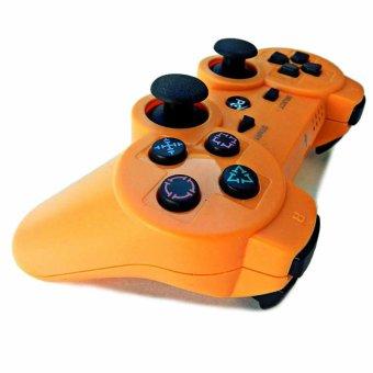 Galeri Gambar Wireless Bluetooth Remote kontrol tuas kendali untuk PS3 (jeruk) - International Lengkap