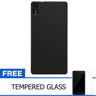 Nillkin For Lenovo Vibe Shot / Z90 Super Frosted Shield Hard Case Original - Hitam +