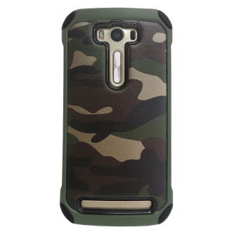 Harga Case Army Protection for Asus Zenfone Laser ZE500KL - Hijau Army