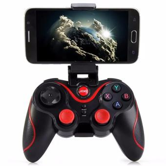 Harga Terios S3 Wireless Bluetooth Gamepad Game Joystick Gaming mini Controller for Android Smartphone Tablet PC Gear VR - intl