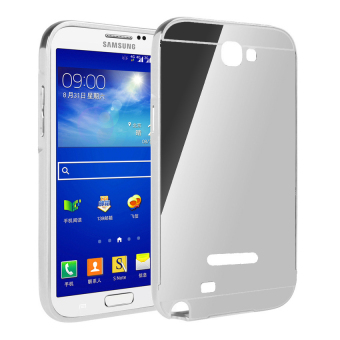 Gold Free Source Case For Samsung Galaxy Note 1 Bumper Slide Mirror Silver .