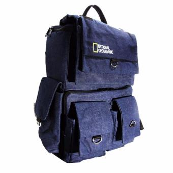 Harga Third Party National Geographic Tas Ransel NGR-01F - Denim