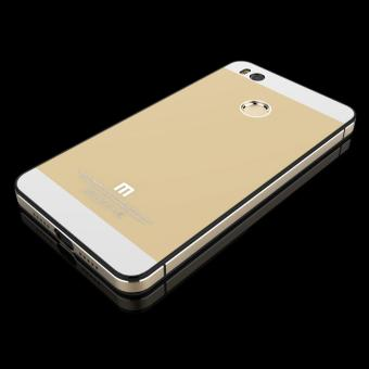 Casing Handphone Untuk Xiaomi Mi4s Seri Aluminium Tempered Glass Free I Ring 2