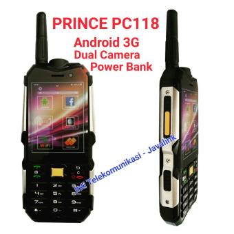 Harga Prince PC118 - 4GB - Android - Outdoor - Black