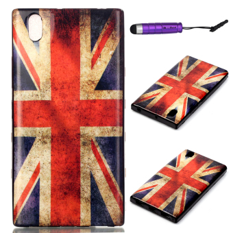 Harga Ultra-thin Soft TPU Back Case Cover for Lenovo P70 (Union Jack)