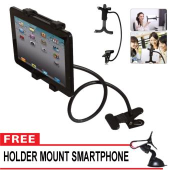 Lazy Pod Jepit Narsis Tablet 30 cm - Jepsis Lazypod Monopod Tongsis Holder Besi Smartphone -