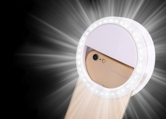 leegoal Selfie Ring Light For IPhone 6 Plus/6s/6/5s/5/4s/4, Samsung Galaxy S6 Edge/S6/S5/S4/S3, Galaxy Note 5/4/3/2