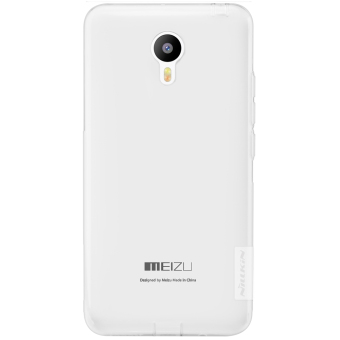 Nillkin Meizu M2 Note Nature TPU Jelly Soft Case Original - Transparan Putih