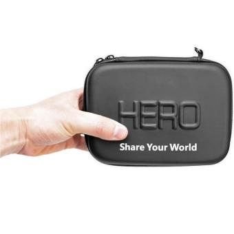 Harga HERO Waterproof EVA Small Size Case For GoPro / Xiaomi Yi / Xiaomi Yi 2 4K - Black