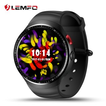 Harga LEMFO LES1 Android 5.1 MTK6580 1GB / 16GB Smart Watch Phone with 2.0 MP Camera - intl