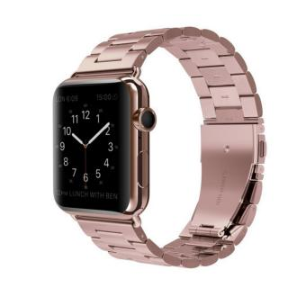 Harga Apple Watch Band Stainless Steel Metal Watch Strap Replacement Bracelet for Apple iWatch 38mm - intl