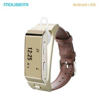 Tindahan Isabela Source · MOUSEMI K2 Smart Bracelet Finess Activity Tracker Smartband With Bluetooth Earphone Sleep