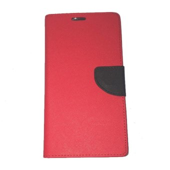 Harga Mr Fancy Diary for Lenovo S930 - Merah