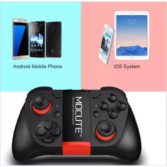Harga MOCUTE-050 Wireless Gamepad player Bluetooth 3.0 Game Controller Handle Joystick for iPhone iOS Android smartphone For Gear VR PS3 - intl