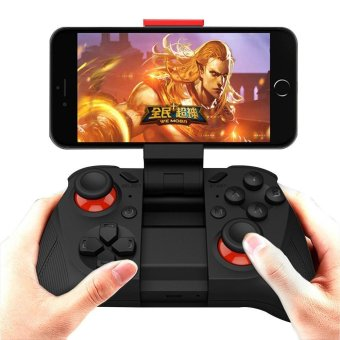 Harga MOCUTE All-In-One Bluetooth Controller Gamepad Joystick for iOS Android PC MOCUTE-050 - Black - intl