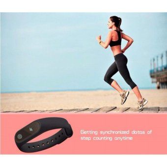 2017 New M2 Smart Bracelet Heart Rate Monitor Bluetooth Smartband Health Fitness Tracker Smart Band Wristband for Android iOS - intl - 5