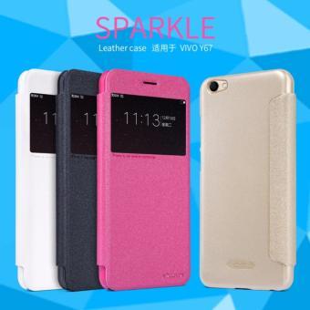 Nillkin Flip Case (Sparkle Leather Case) - Vivo V5 / V5s / V5 Lite Black/ Hitam ...