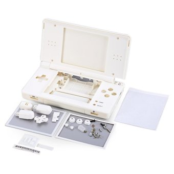 Harga Full Repair Parts Replacement Housing Shell Case Kit for Nintendo DS Lite NDSL DSL (White) - intl