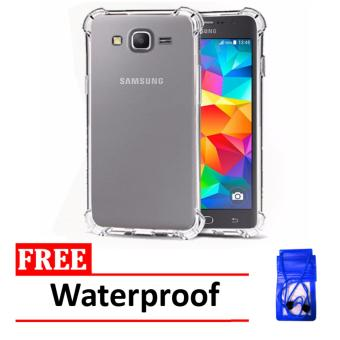 Case Anti Shock / Anti Crack Elegant Softcase for Samsung Galaxy J1 Ace - Clear +