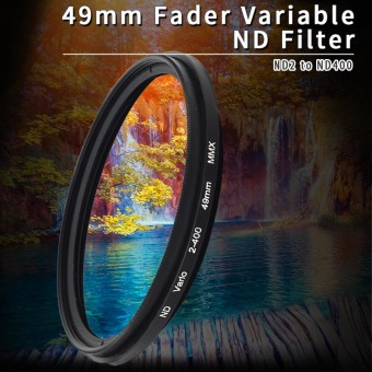 Harga XCSource 49mm Fader Variable ND Filter Neutral Density ND2 to ND400 for Panasonic LF155