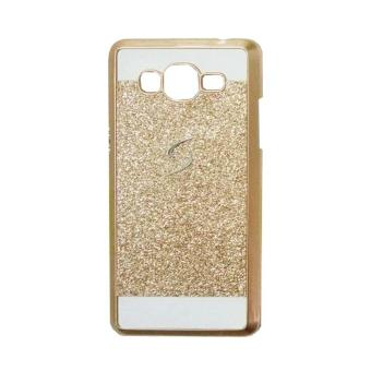 Hardcase Glitter Metalic Case Samsung Galaxy V2/J106 - Gold