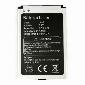 Harga Li-ion Baterai Model Li021 Competible Bolt Orion 2600mAh - Original
