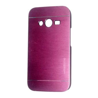Motomo Samsung Galaxy Ace 4 G313H Hardcase Backcase Metal Case Pink .