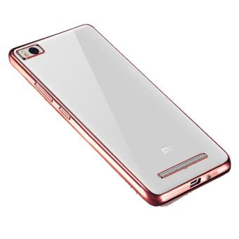 Case Ultrathin Shining List Chrome For Xiaomi Mi 5 Rosegold Gratis Tempered Glass .