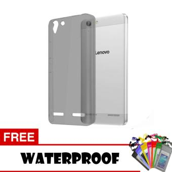 Softcase Ultrathin Lenovo K5 Plus Aircase - Hitam + Free Waterproof